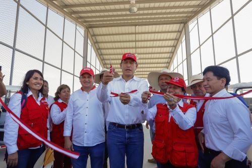 Presidente Vizcarra entregó la Planta de Valorización y Relleno Sanitario de Sullana