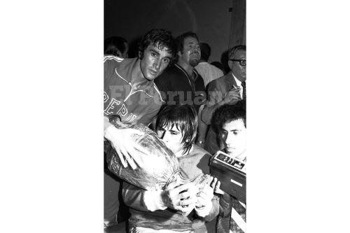 Hugo Sotil fue uno de los héroes de la Copa América que obtuvo Perú en 1975. ANDINA/archivo