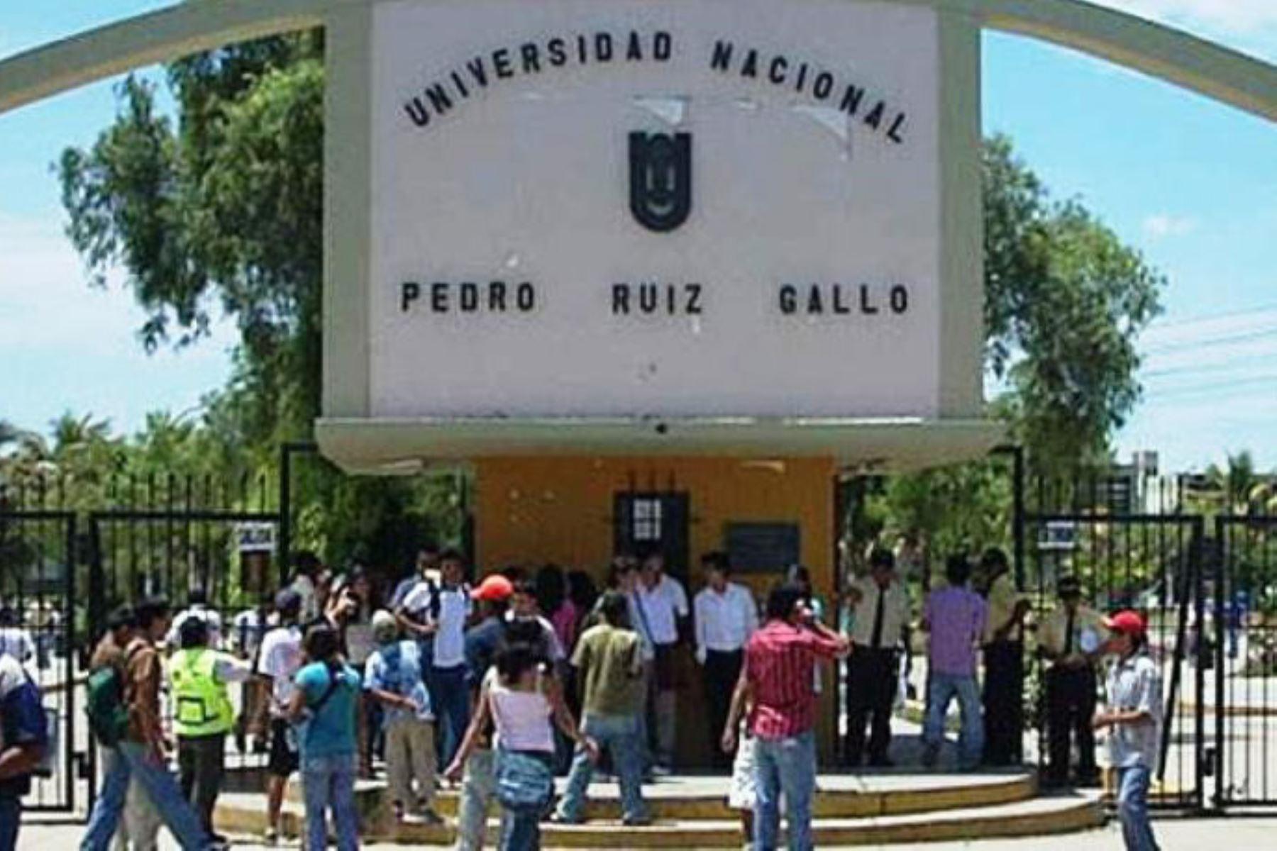 Universidad Nacional Pedro Ruiz Gallo de Lambayeque eleva su producción de solicitud de patentes. INTERNET/Medios