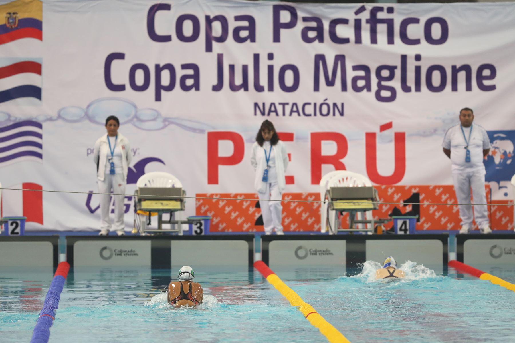 Torneo Copa Pacífico de Natación 2019. Foto: ANDINA/Melina Mejía