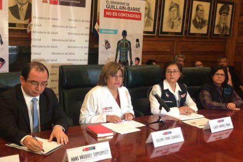 Guillain Barré: Minsa asegura que casos no han aumentado en La libertad y Piura