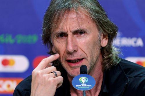 Gareca apela a experiencia e inspiración para que Perú inicie bien Copa América