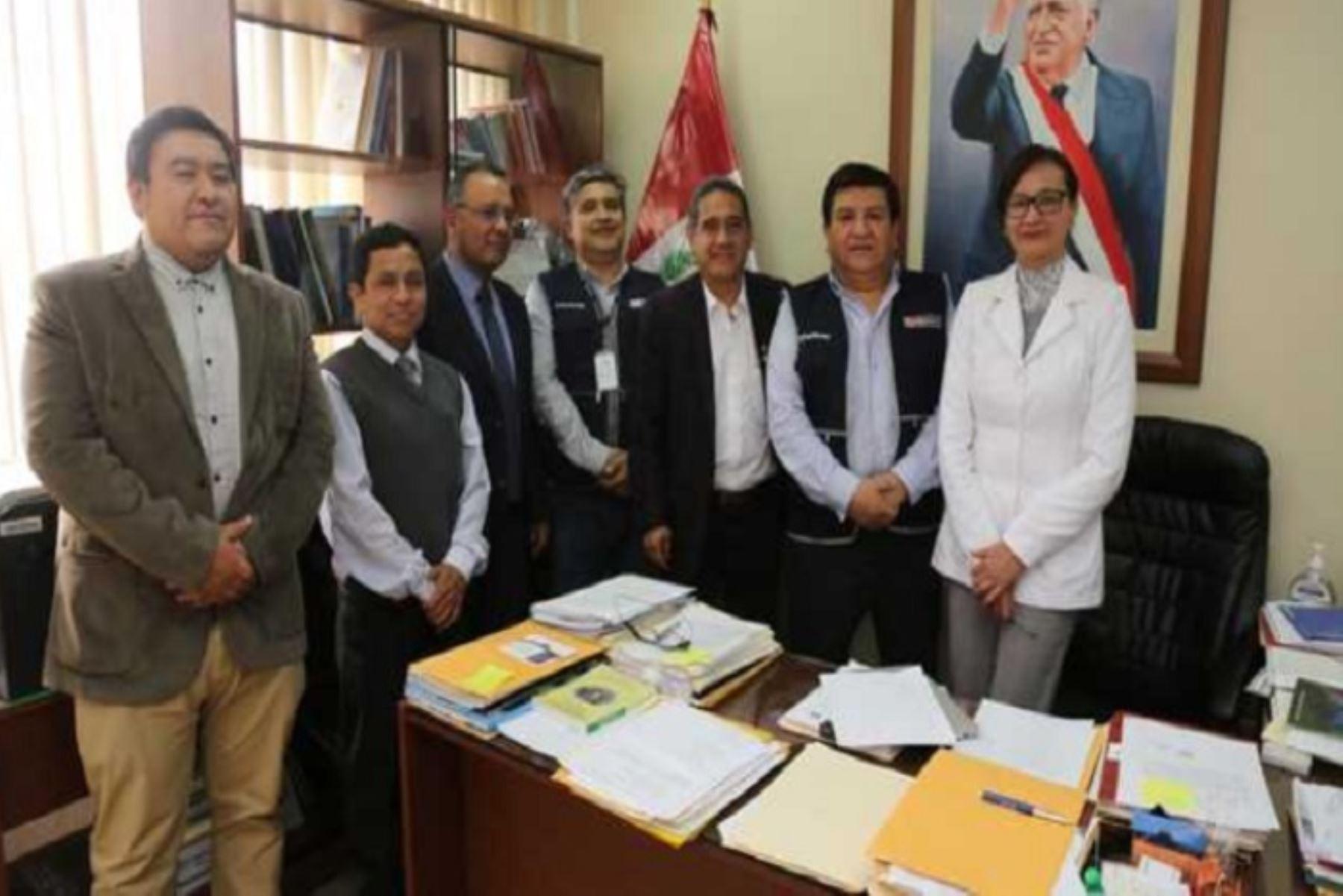 El Ministerio de Salud (Minsa) refuerza en la región Cajamarca  las intervenciones sanitarias que permitan garantizar la atención y tratamiento a pacientes afectados con el síndrome de Guillain-Barré.