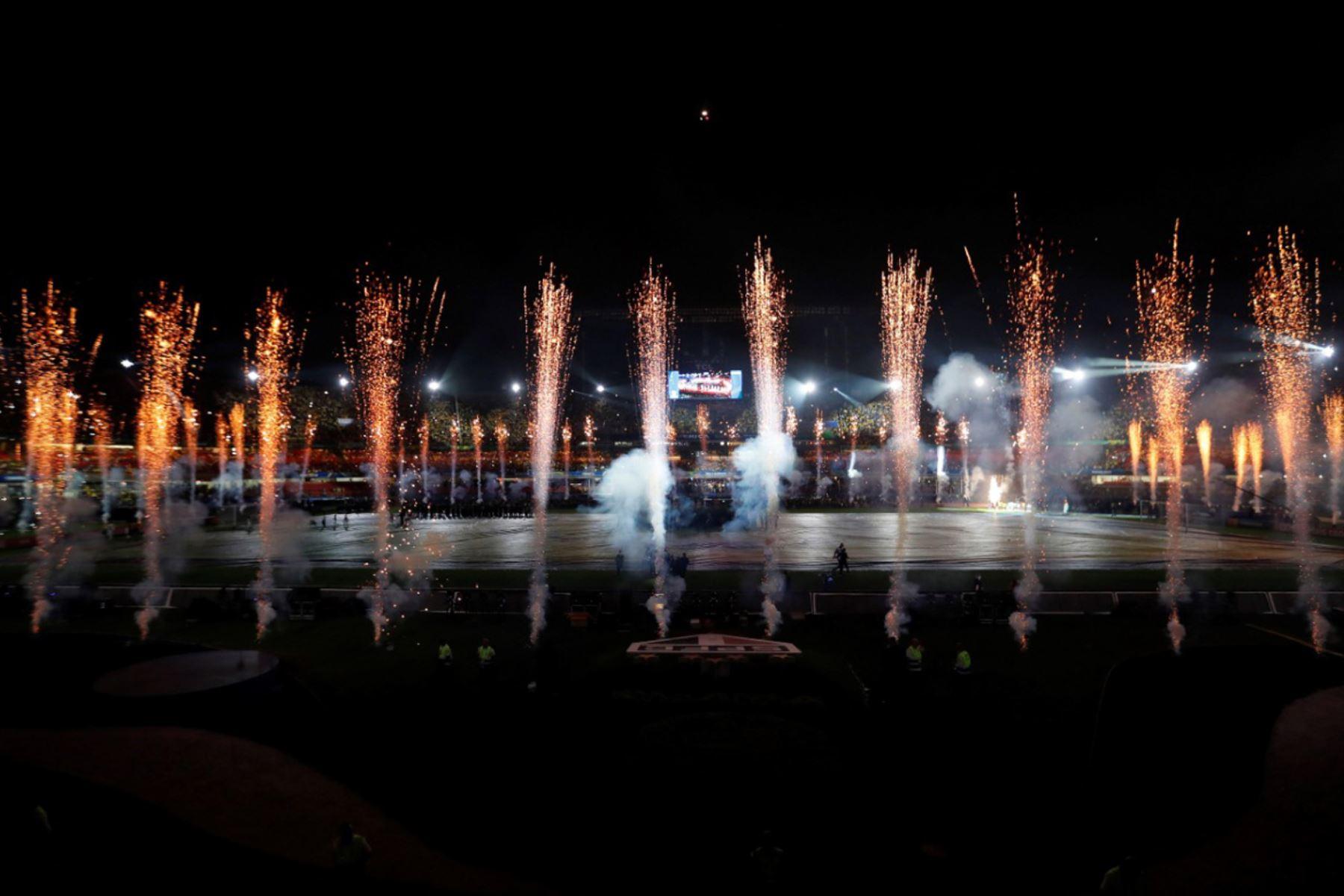 Ceremonia de inauguración de la Copa América 2019. Foto: AFP