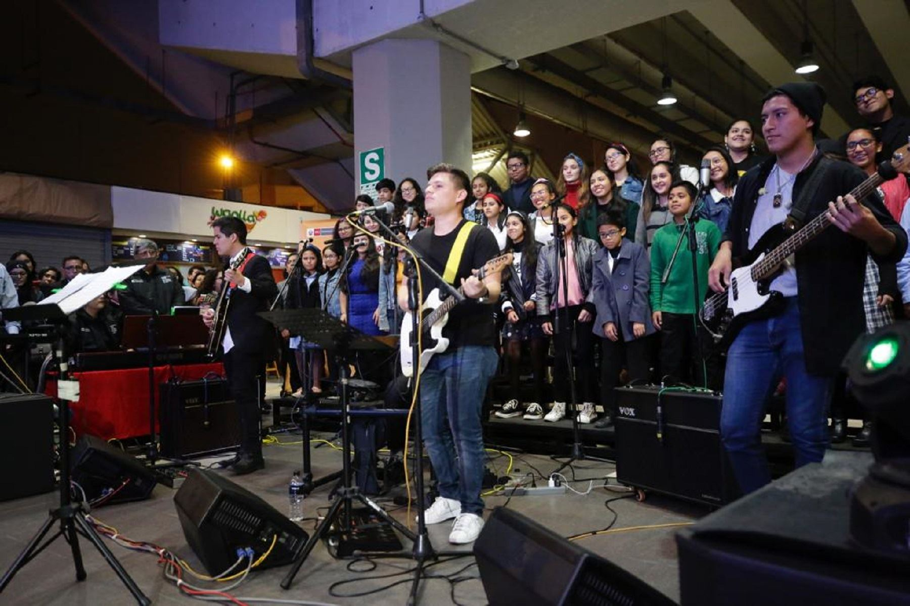 Rock en la Estación Foto: Ministerio de Cultura