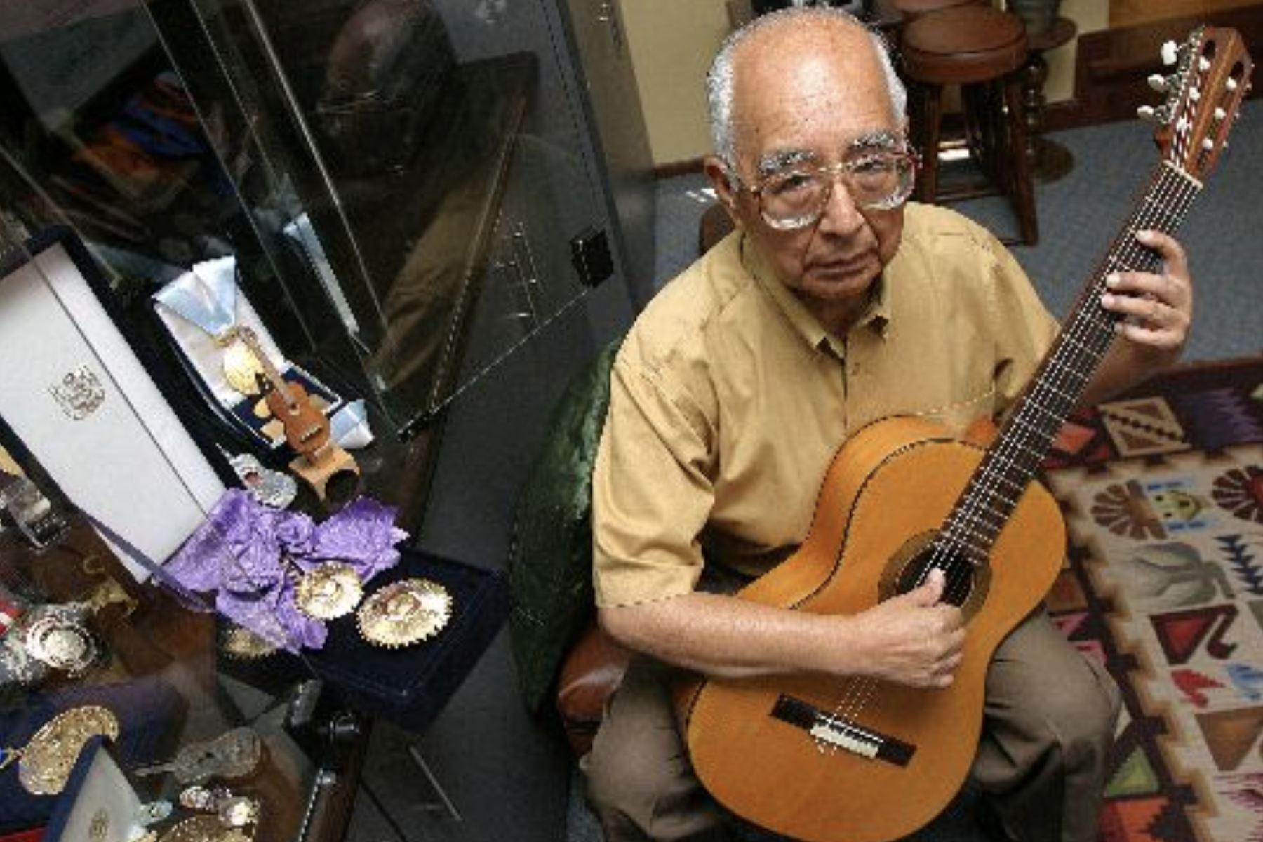 Artista de música andina, Raúl Garcia Zarate. Foto: ANDINA/Difusión