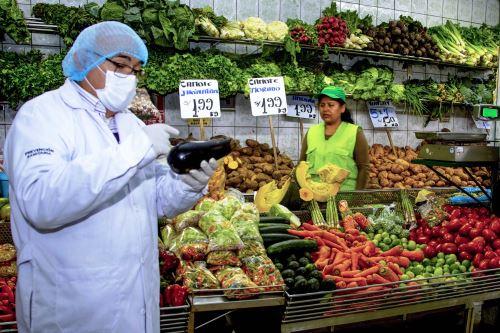 Guillain Barré: inspeccionan restaurantes, mercados y bodegas en Lima. Foto: ANDINA/Difusión.
