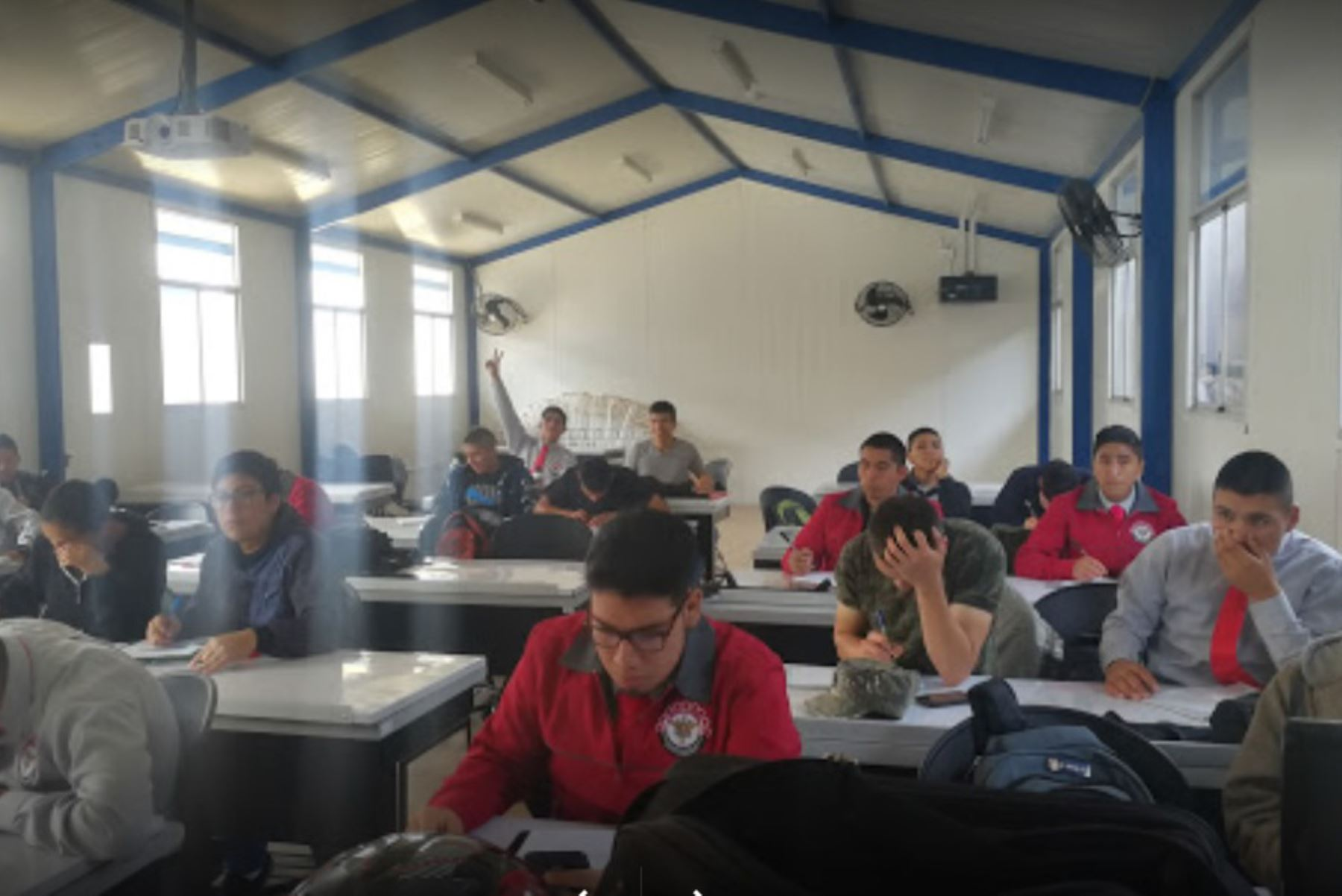 Carreras del Instituto Tecnológico de las Fuerzas Armadas se encuentran en proceso de autoevaluación. Foto: Andina/Difusión