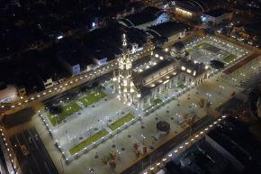 """El proyecto denominado """"Recuperación de los servicios religiosos y de tradición religiosa del Santuario del Señor de Luren de Ica"""" se concretó en 5,791 metros cuadrados. Foto: Shougang Hierro Perú"""