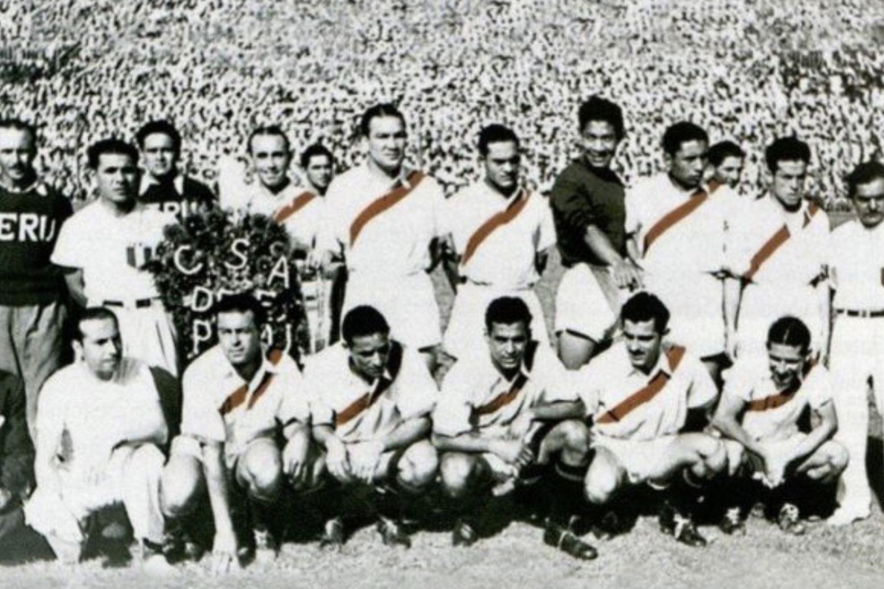 I17/06/2019   Perú ganó la primera de sus dos Copa América en 1939. Foto: CONMEBOL