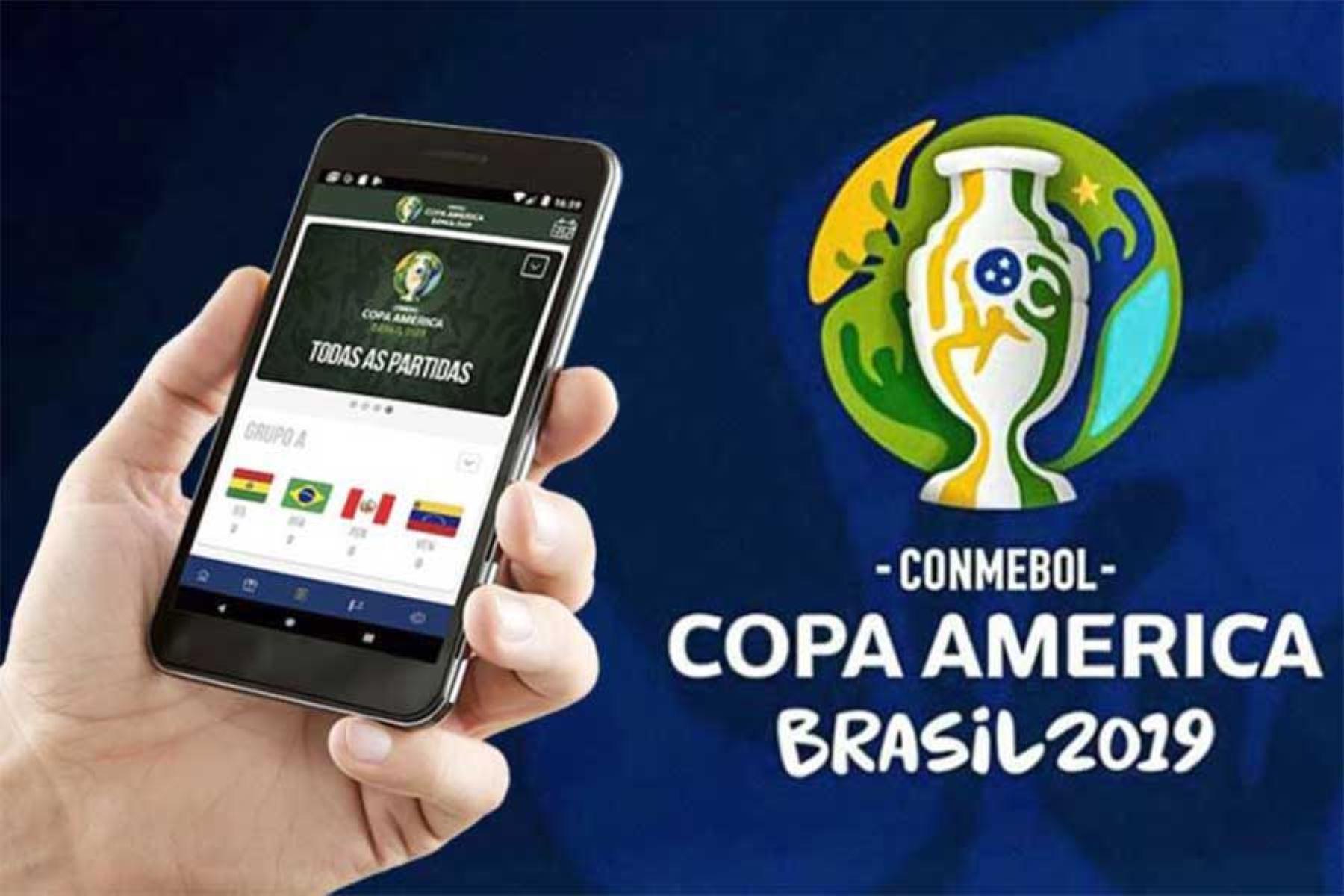 La aplicación móvil de la Copa América está disponible para Android e iOS.