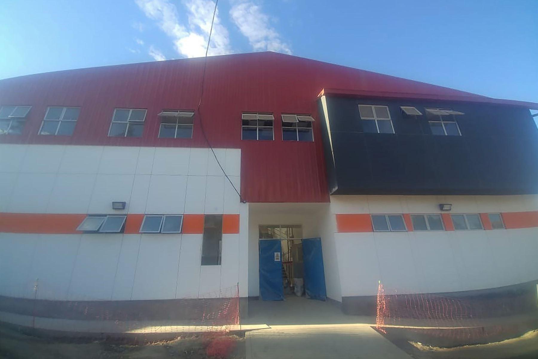 Minsa entregará en próximos días hospital de contingencia de Haquira, en Apurímac.