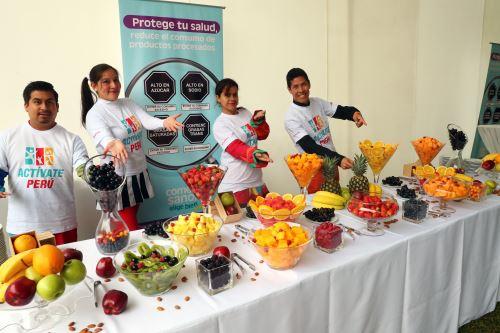 Ministra de Salud, Zulema Tomás, presenta el balance sobre alimentación saludable