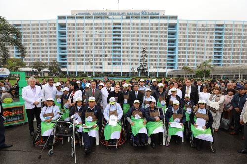 EsSalud presentó Quioscos Saludables