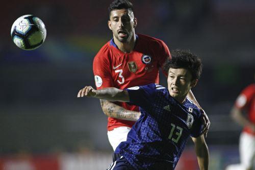 Chile golea  4 a 0 a Japón por la Copa América 2019
