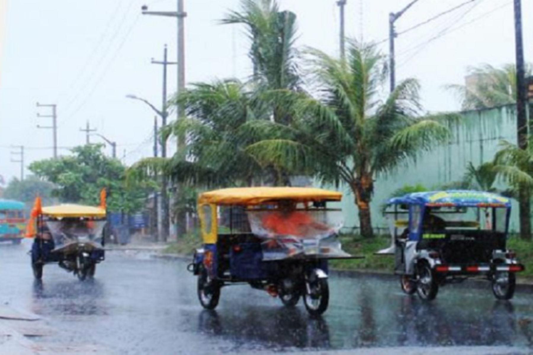 El Senamhi pronosticó precipitaciones pluviales de moderada a fuerte intensidad en la Selva. Foto: ANDINA/Difusión