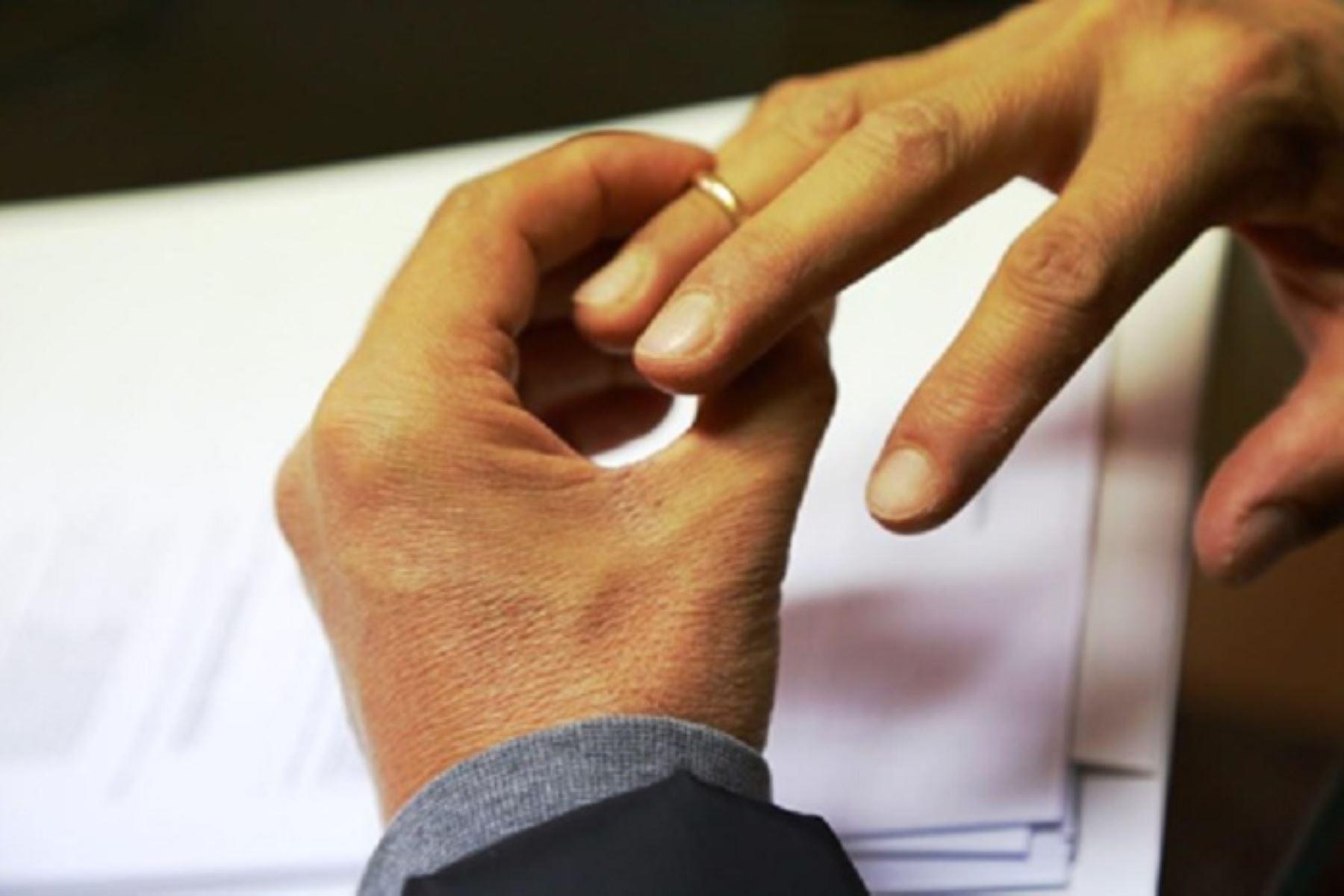 De enero a mayo del presente año la inscripción de divorcios en el Registro de Personas Naturales creció en trece departamentos, respecto del mismo periodo del año 2018, registrándose en estos cinco meses un total de 3,506 divorcios.