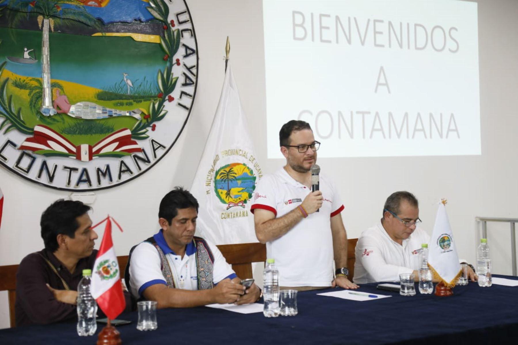 Ministro de Comercio Exterior y Turismo, Edgar Vásquez, sostuvo que se trabaja con el Gobierno Regional de Loreto, la Municipalidad de Contamana y el sector privado de Contamana para posicionar a esta ciudad como un destino turístico de referencia en la Amazonía peruana.