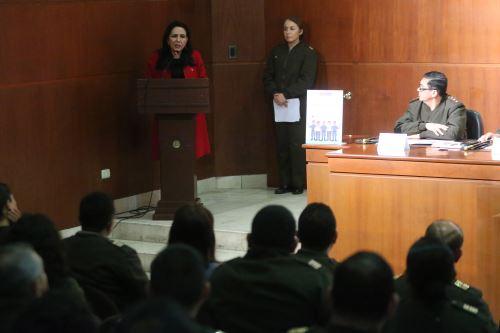 """Mimp lanza programa de sensibilización y capacitación """"Fuerza sin violencia"""", ante miembros del Ejercito peruano"""