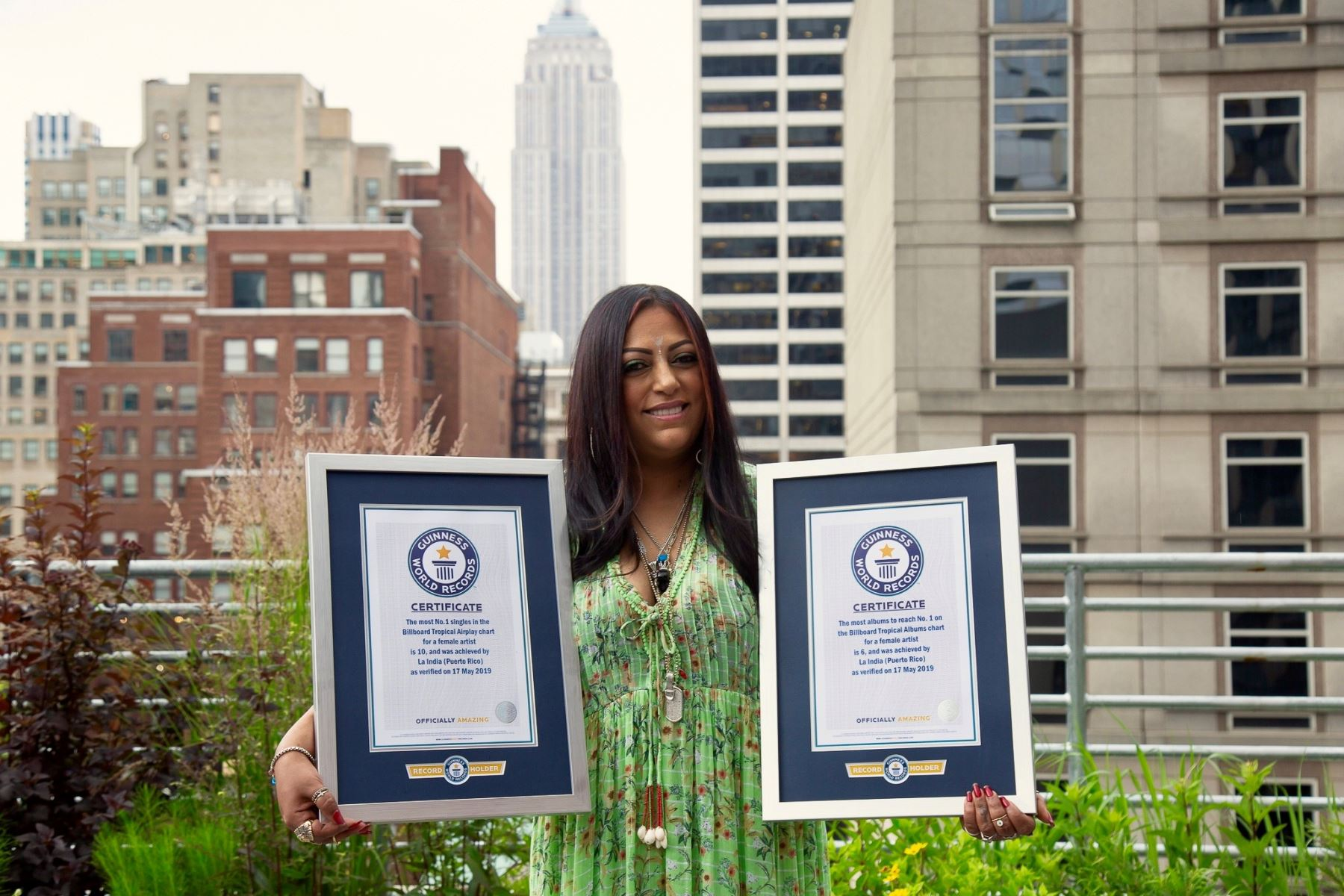 India es reconocida por el Record Guinness. (Foto cortesía: Guinness World Records).