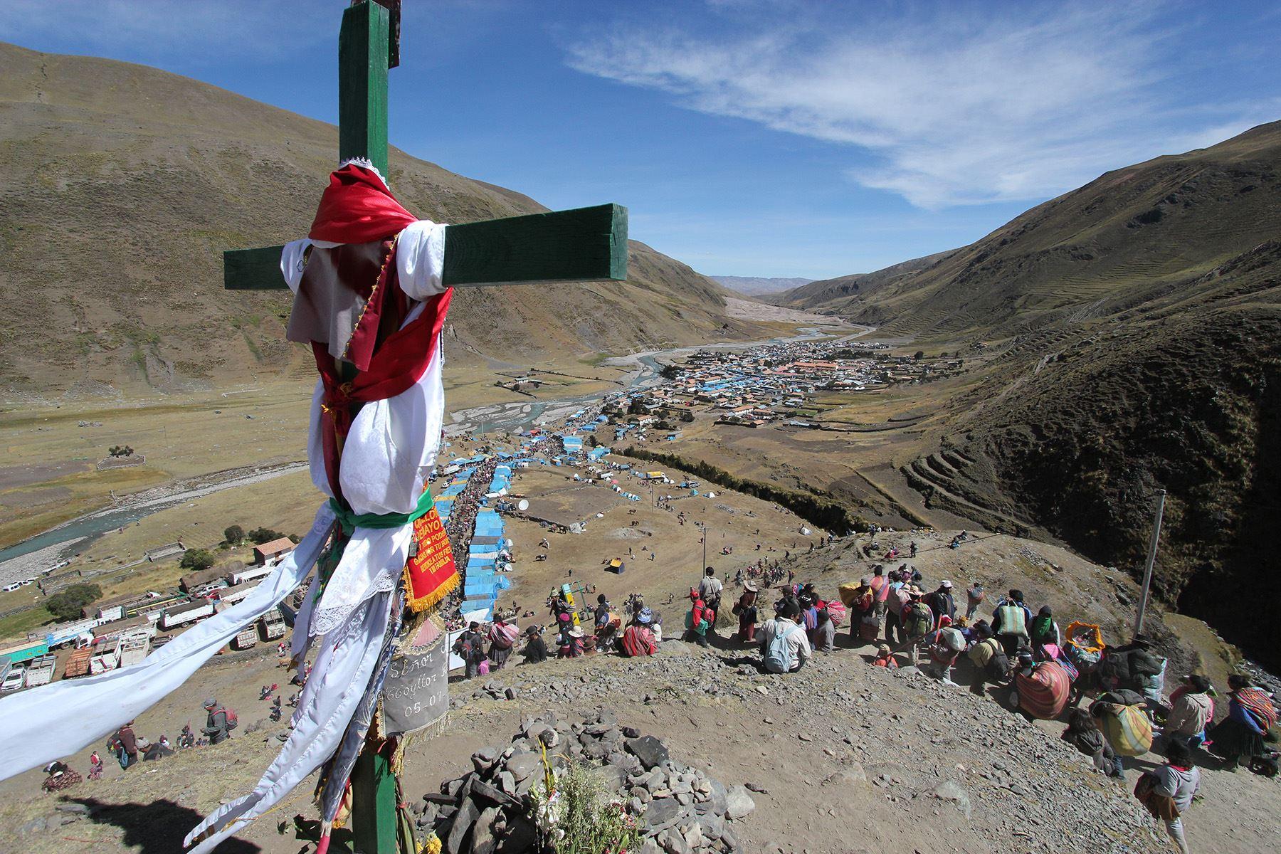 Cusco confirma suspensión de la tradicional fiesta de Qoyllur Riti y cierra accesos al santuario ubicado en el nevado Kolquepunku. ANDINA/Percy Hurtado Santillán