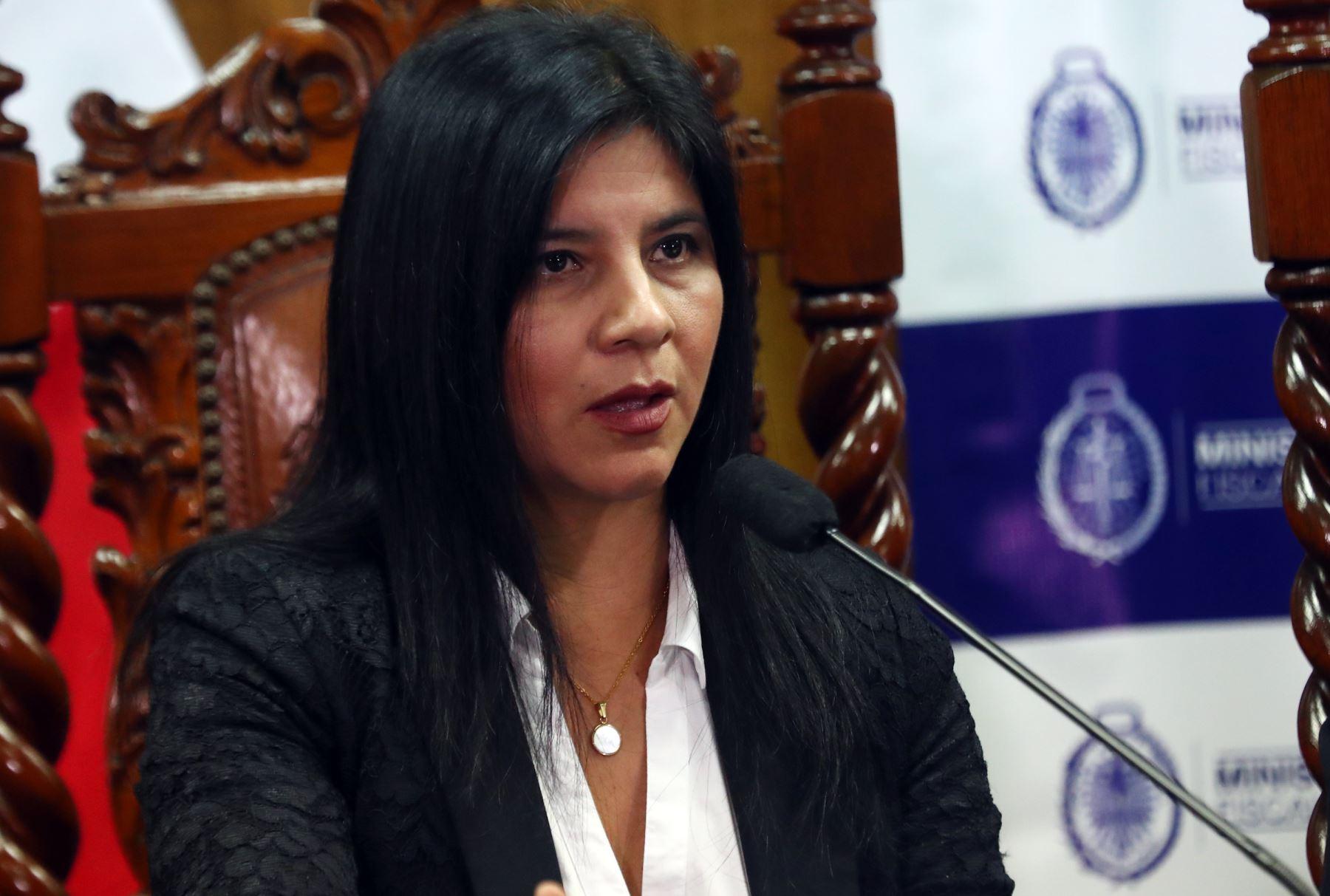 Sílvana Carrión, procuradora ad hoc caso Lava Jato .Foto: ANDINA/Archivo.
