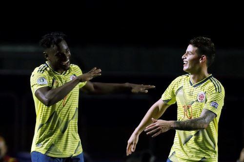 Colombia gana 1 a 0 a Catar por la Copa América 2019