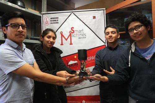 Este proyecto logró el segundo lugar en competencia en Francia. Foto: ANDINA/Juan Carlos Guzmán