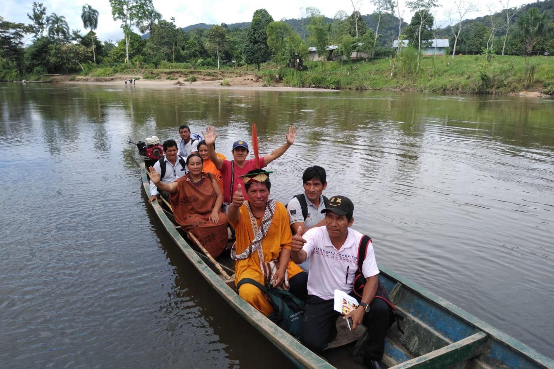 Indígenas del Vraem se capacitan en producción y comercialización de cacao nativo en Amazonas. ANDINA/Difusión
