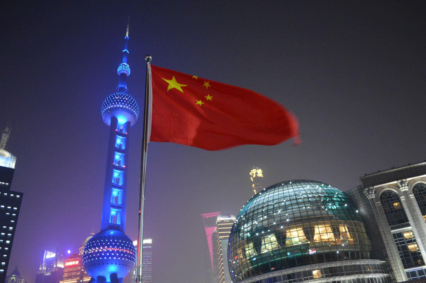 Shanghai, una de las ciudades más importantes de China por el dinamismo de su economía. Foto: ANDINA/ Víctor Véliz.