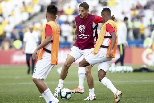 Imágenes previas al partido entre Perú y Brasil por la Copa América 2019