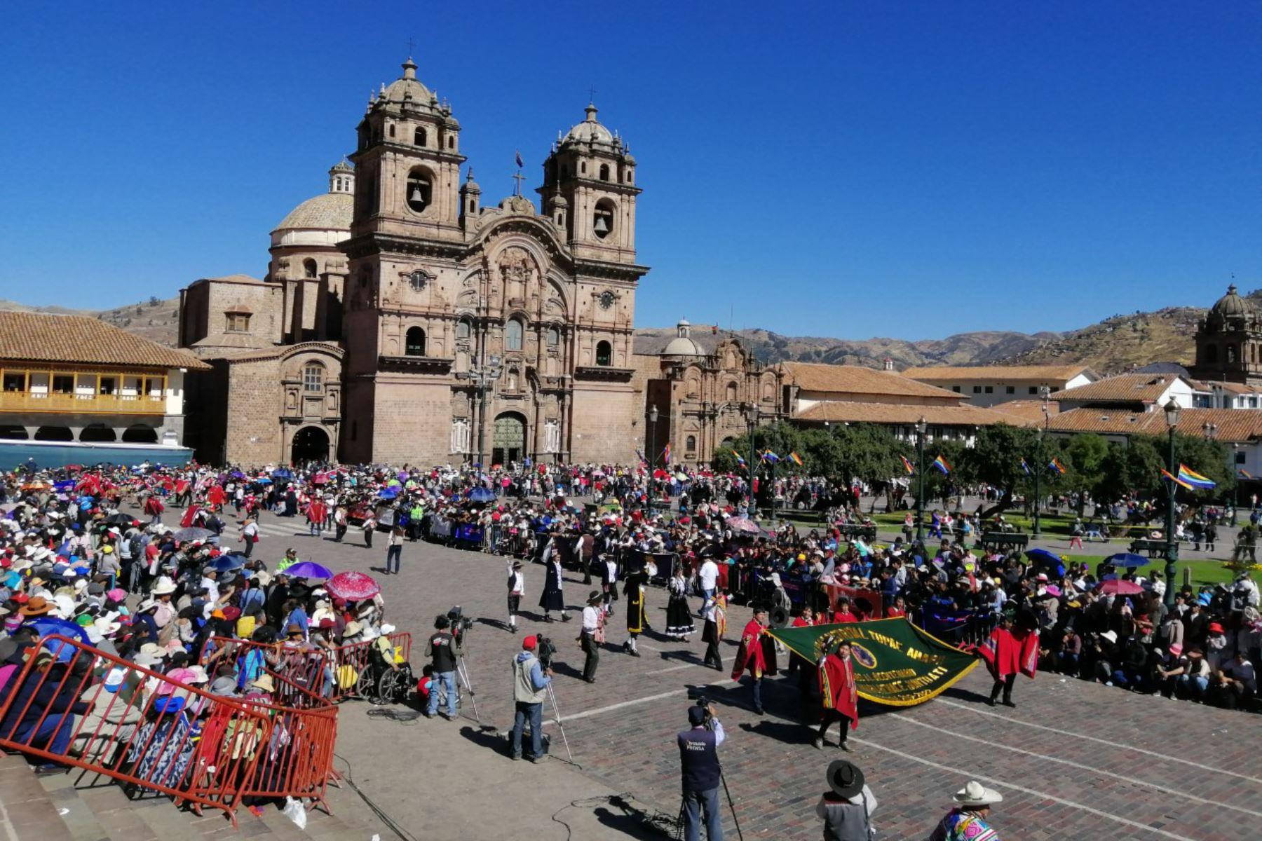 La plaza mayor de Cusco será, este domingo 1 de marzo, escenario de un pasacalle solidario para acopiar donaciones de víveres a favor de los damnificados por el aluvión en el distrito de Santa Teresa, ubicado en la provincia de La Convención.