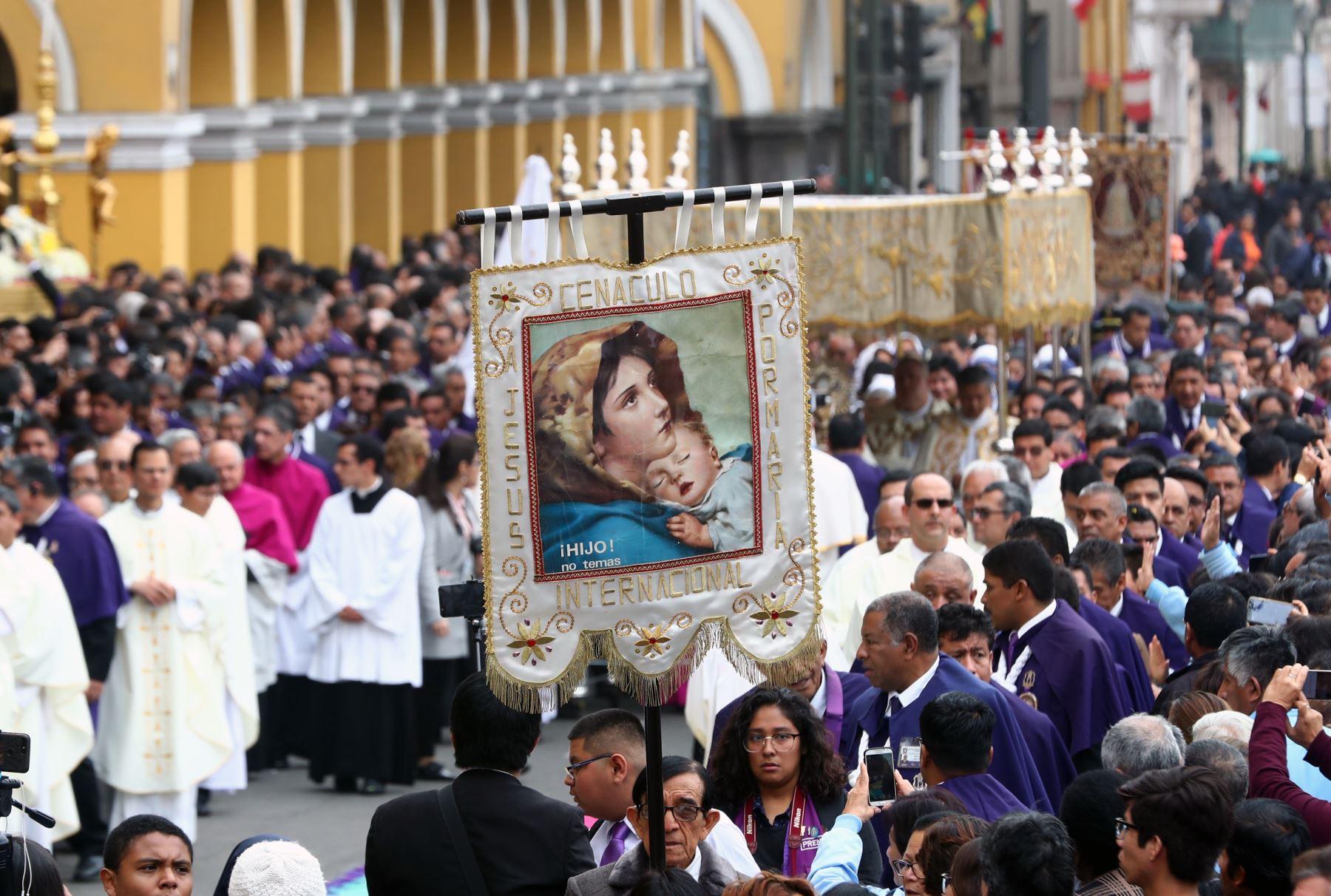 El Arzobispado de Lima realizo la Solemnidad  del Corpus Christi 2019 .Foto: ANDINA/Norman Córdova