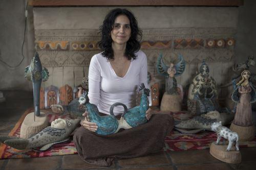 Rosamar Corcuera, ceramista