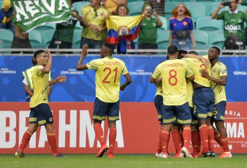 Colombia gana 1 a 0 a Paraguay por la Copa América 2019
