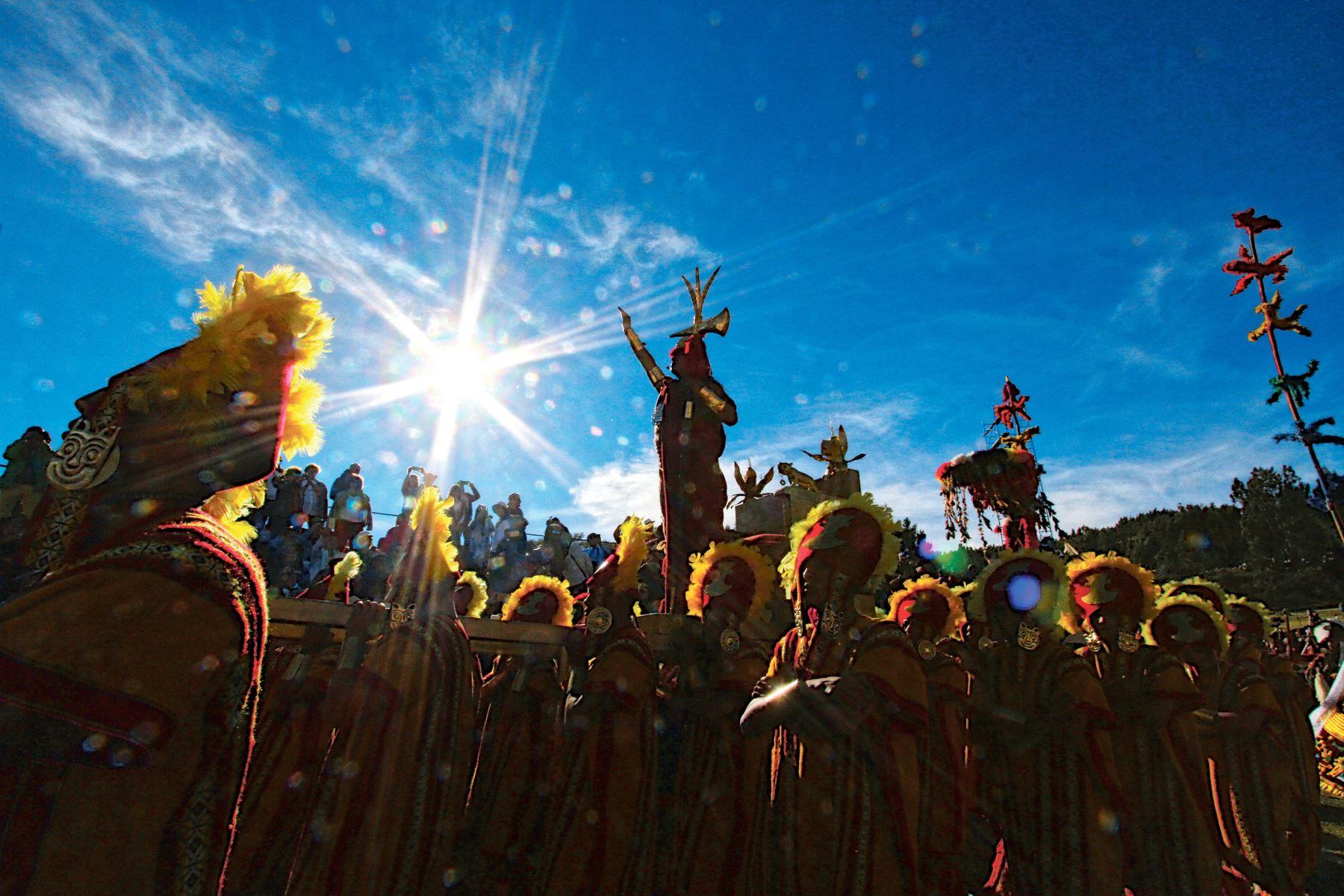 Inti Raymi: tradición e identidad cusqueña [fotos históricas, videos,  ilustraciones] | Noticias | Agencia Peruana de Noticias Andina