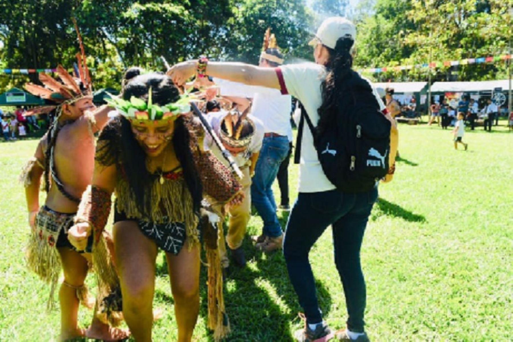 """Madre de Dios continúa celebrando con gran algarabía la Fiesta de la Selva, denominación dada a la tradicional conmemoración de San Juan, patrono de la Amazonía peruana, por ser dicha región """"Capital de la Biodiversidad del Perú"""", y busca revalorar los valores ancestrales y culturales que posee."""