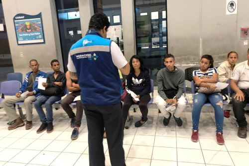 Restringen ingreso a casi 100 venezolanos por no contar con Visa Humanitaria. Foto: ANDINA/Difusión.