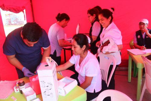 La provincia de Casma, en Áncash, ya cuenta con su propio banco de sangre. ANDINA