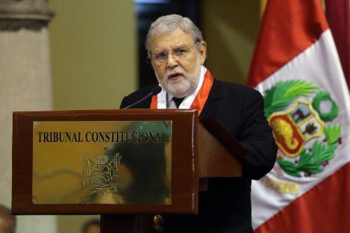 Tribunal Constitucional conmemoro su vigésimo tercer aniversario institucional