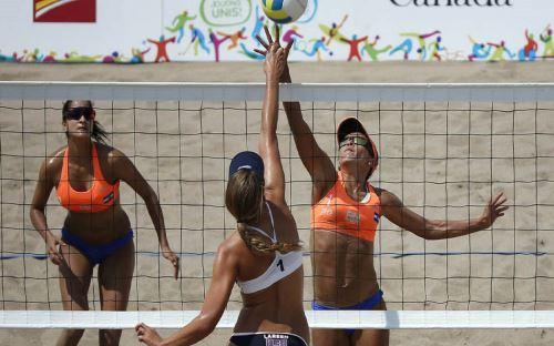 Voleibol de Playa Foto: EFE