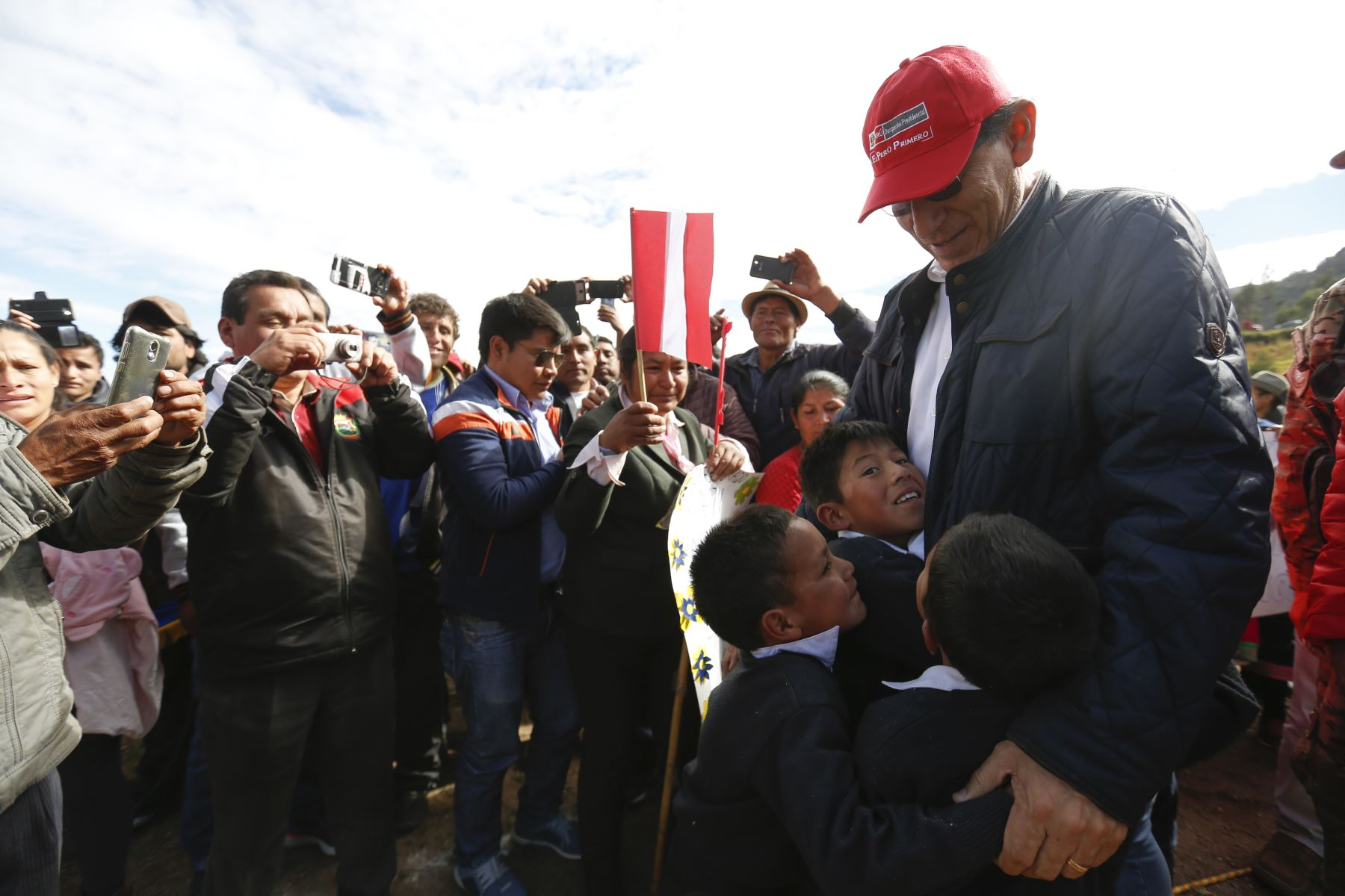 Presidente Martin Vizcarra supervisó trabajos de mejoramiento del corredor vial que une la Libertad y Áncash: Tramo17, CP Miraflores - Santiago de Challas. Foto:ANDINA/Prensa Presidencia