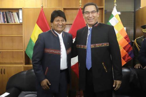 Encuentro Presidencial y V Gabinete Binacional Perú-Bolivia, con la participación de los ministros de Estado de ambos países