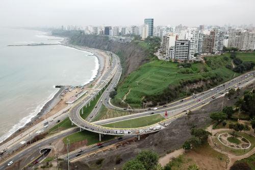 Nuevo viaducto Armendáriz conectará directamente Miraflores y Barranco (fotos con dron)