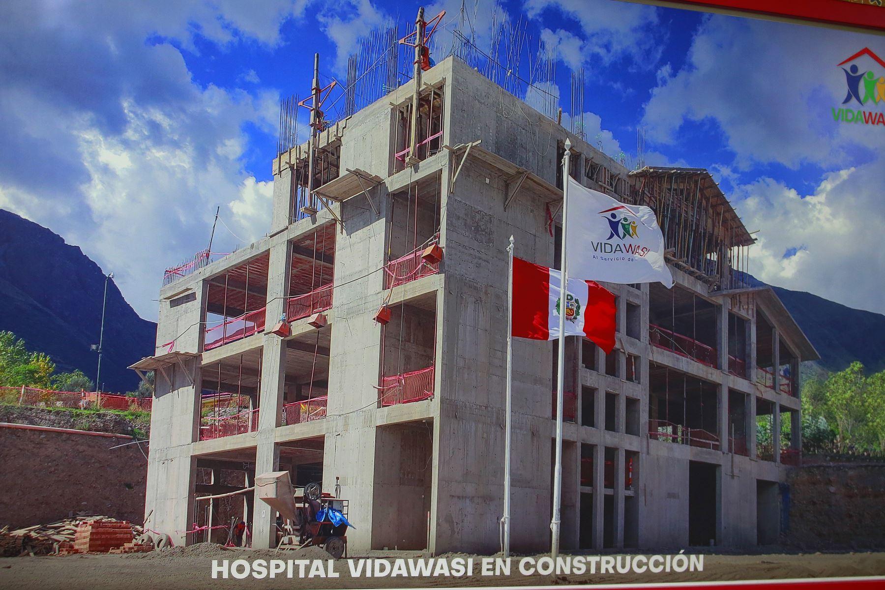 La esperanza se renueva en Cusco con hospital de cáncer pediátrico. ANDINA/Héctor Vinces