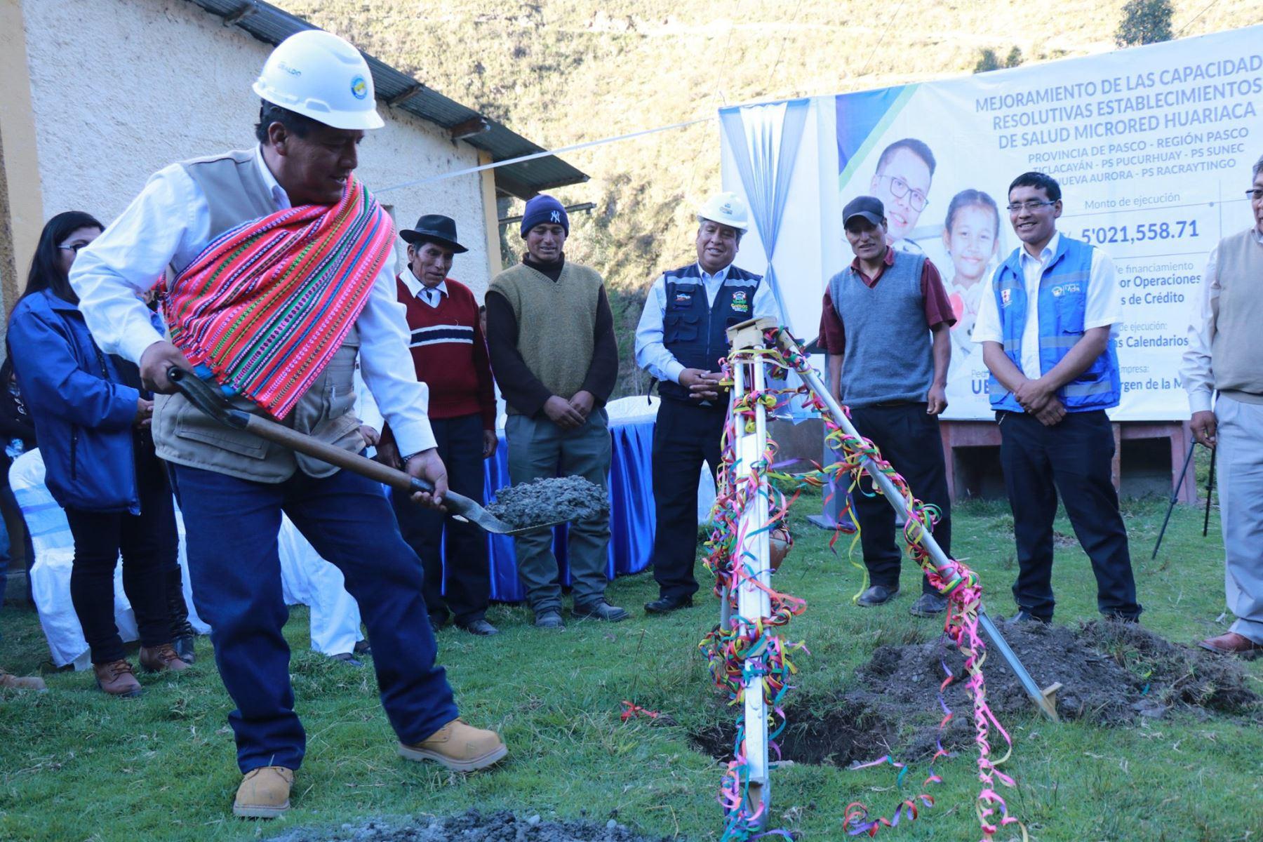 El gobernador de Pasco, Pedro Ubaldo, saludó la aprobación del crédito suplementario de 38.8 millones de soles para culminar obras de inversión social.