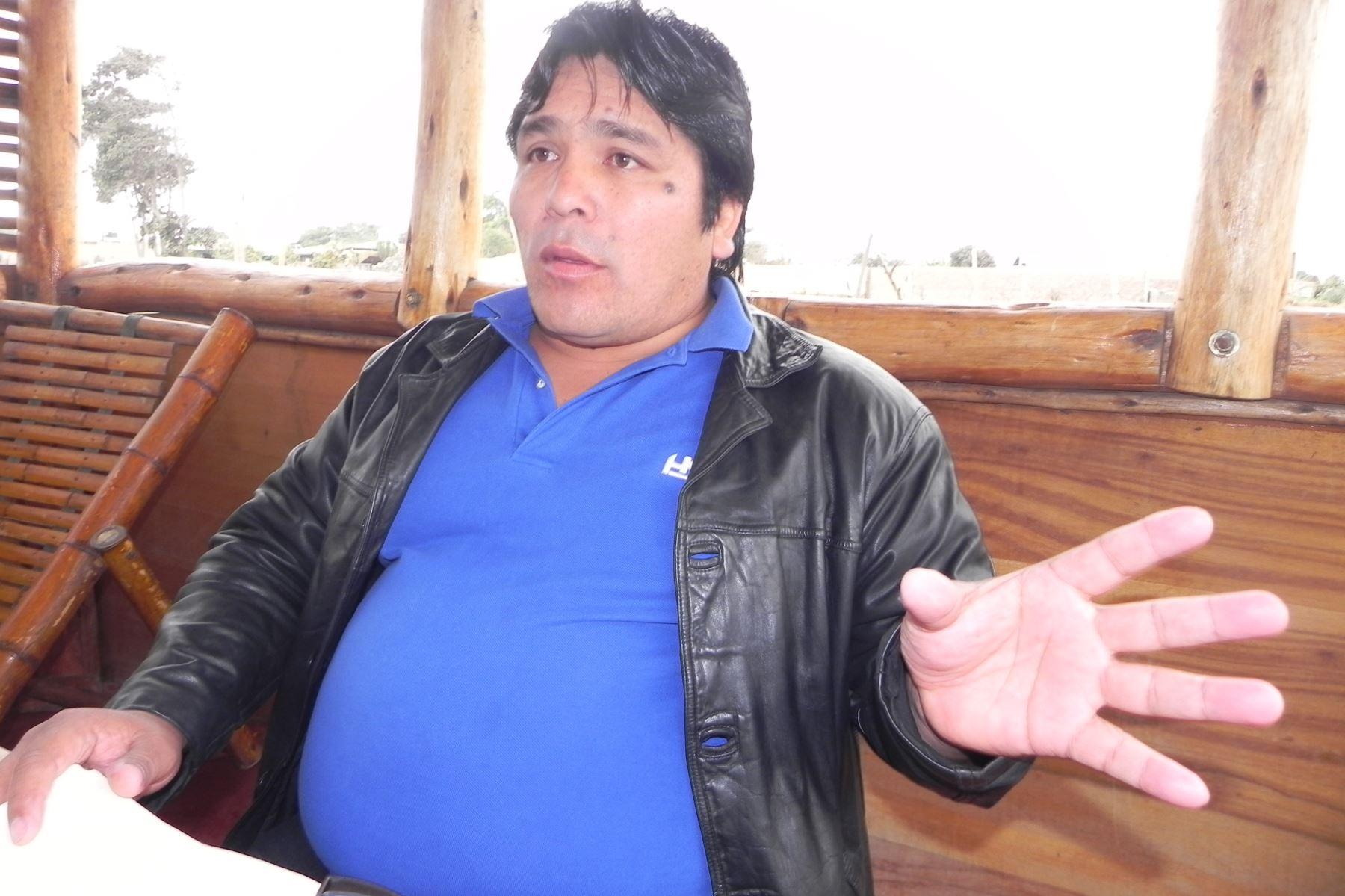 """Rubén Moreno Olivo, alias """"Goro"""", está implicado en el asesinato del exconsejero regional de Áncash Ezequiel Nolasco Campos."""