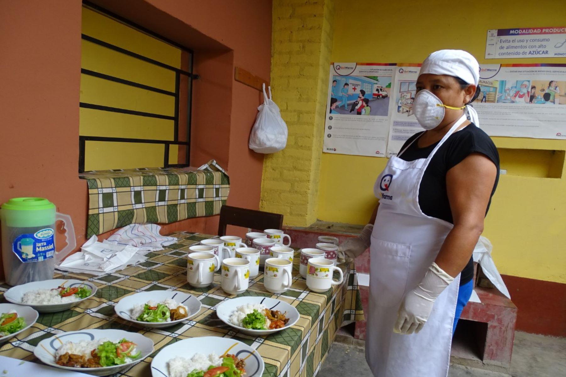 Qali Warma selecciona Comités de Alimentación Escolar exitosos de Lambayeque