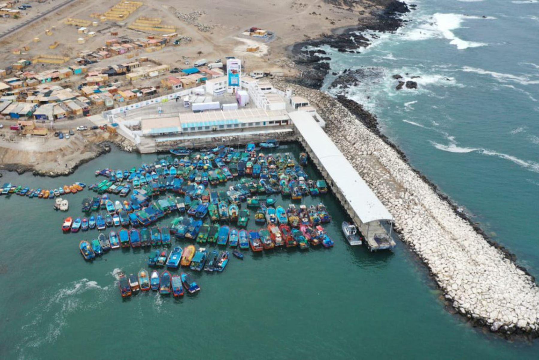El nuevo Desembarcadero Pesquero Artesanal Morro Sama beneficiará a más de 1,650 pescadores artesanales y sus familias del sur de Tacna y Moquegua.