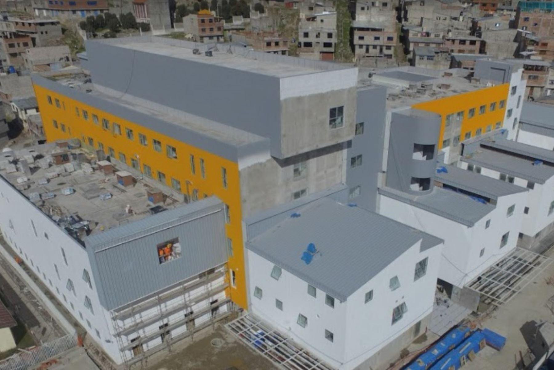 El gobierno regional de Pasco impulsa la inscripción del Hospital Regional Daniel Alcides Carrión en el Libro de los Récords Guinness.